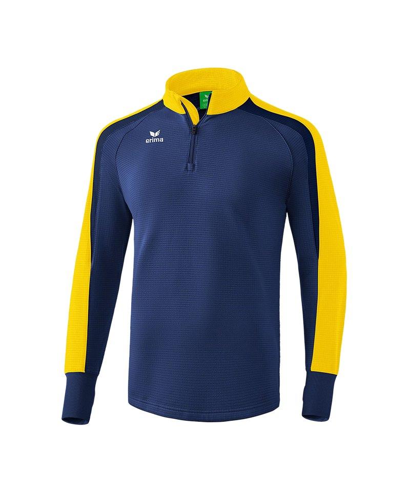 Erima Liga 2.0 Ziptop Blau Gelb - blau