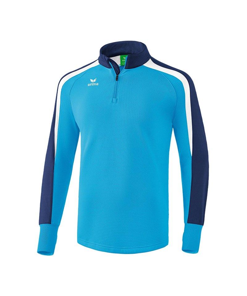 Erima Liga 2.0 Ziptop Hellblau Blau Weiss - blau