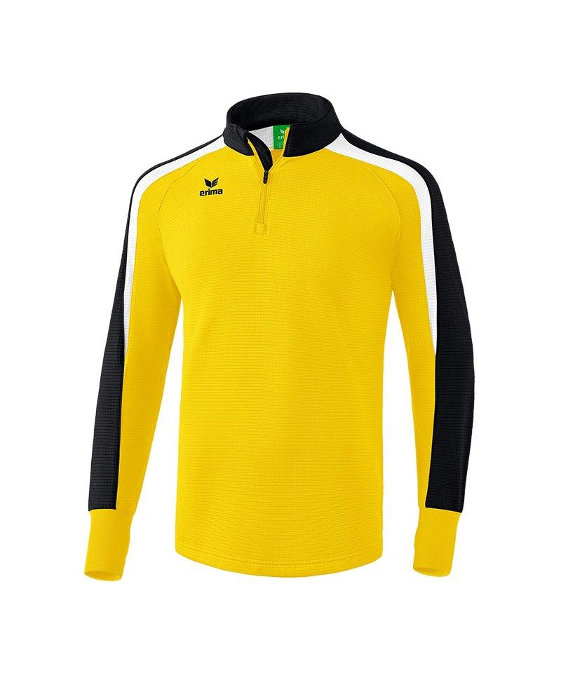 Erima Liga 2.0 Ziptop Gelb Schwarz Weiss - gelb
