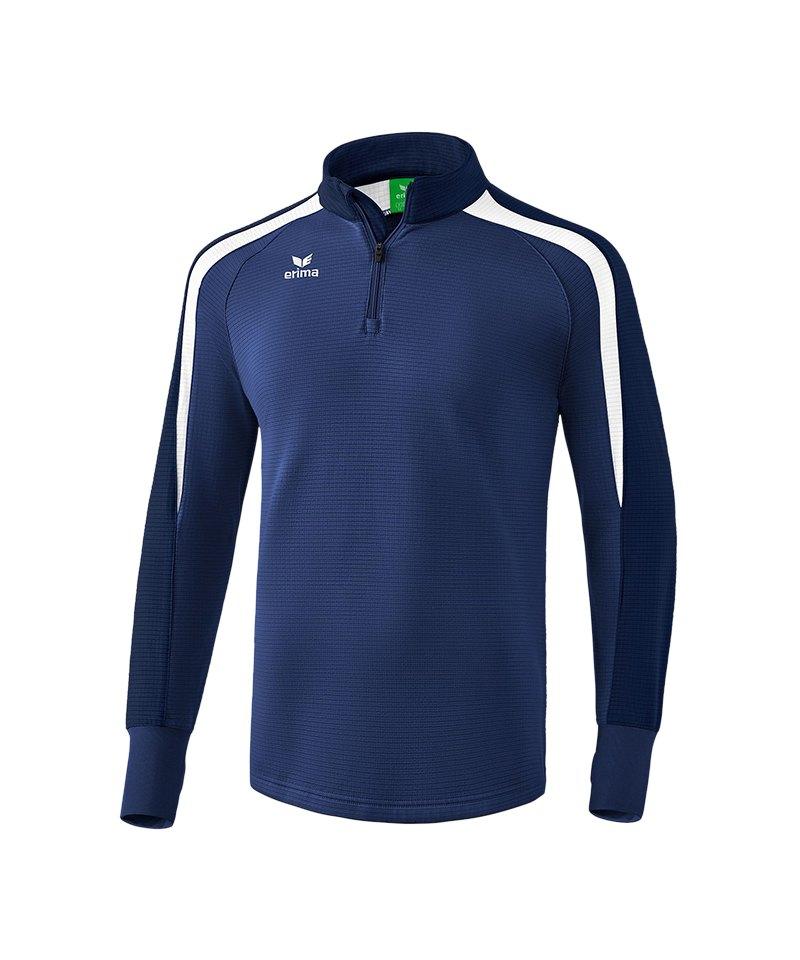 Erima Liga 2.0 Ziptop Blau Weiss - blau