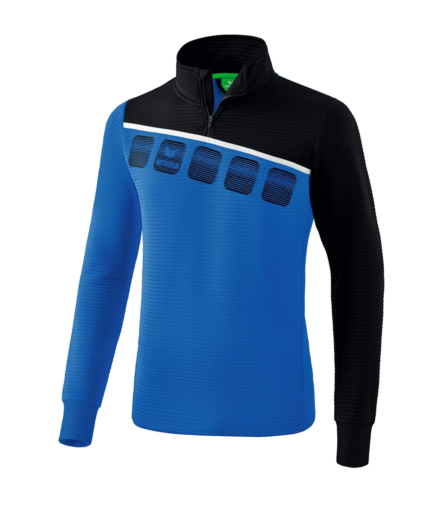 Erima 5-C Trainingstop Blau Schwarz - Blau