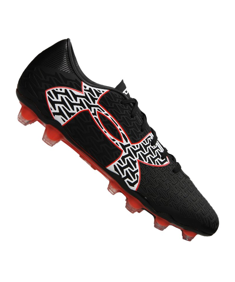 Under Armour FG ClutchFit Force 2.0 Schwarz F006 - schwarz