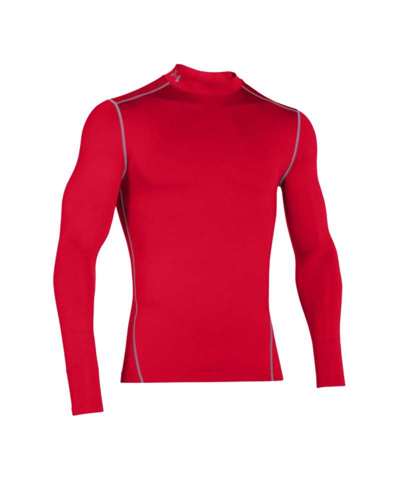 Under Armour Mock Coldgear Compression F600 - rot