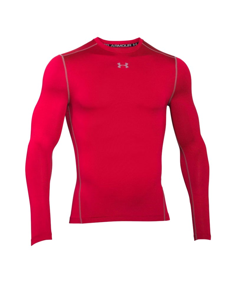 Under Armour Shirt Coldgear Compression Crew F600 - rot