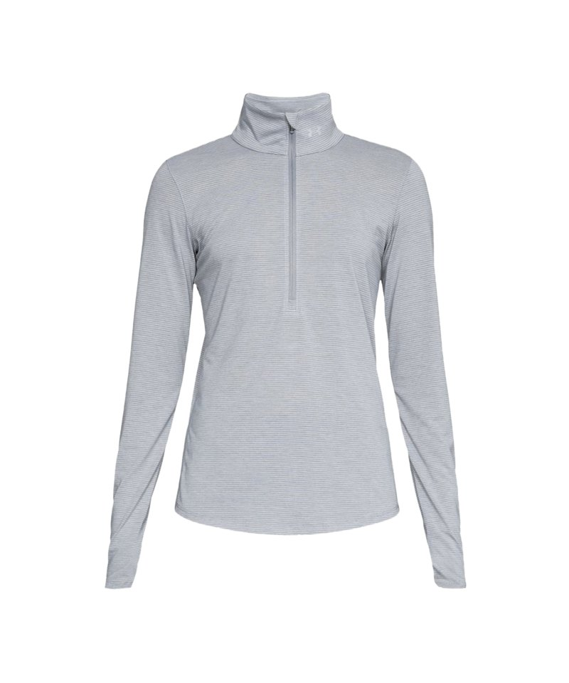 Under Armour Streaker 1/2 Zip Running Damen F036 - grau