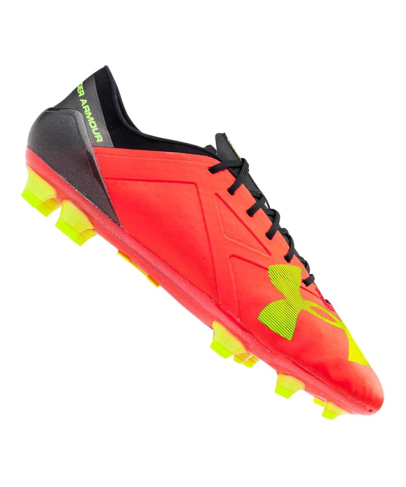 Under Armour FG Spotlight Rot Gelb F669 - rot