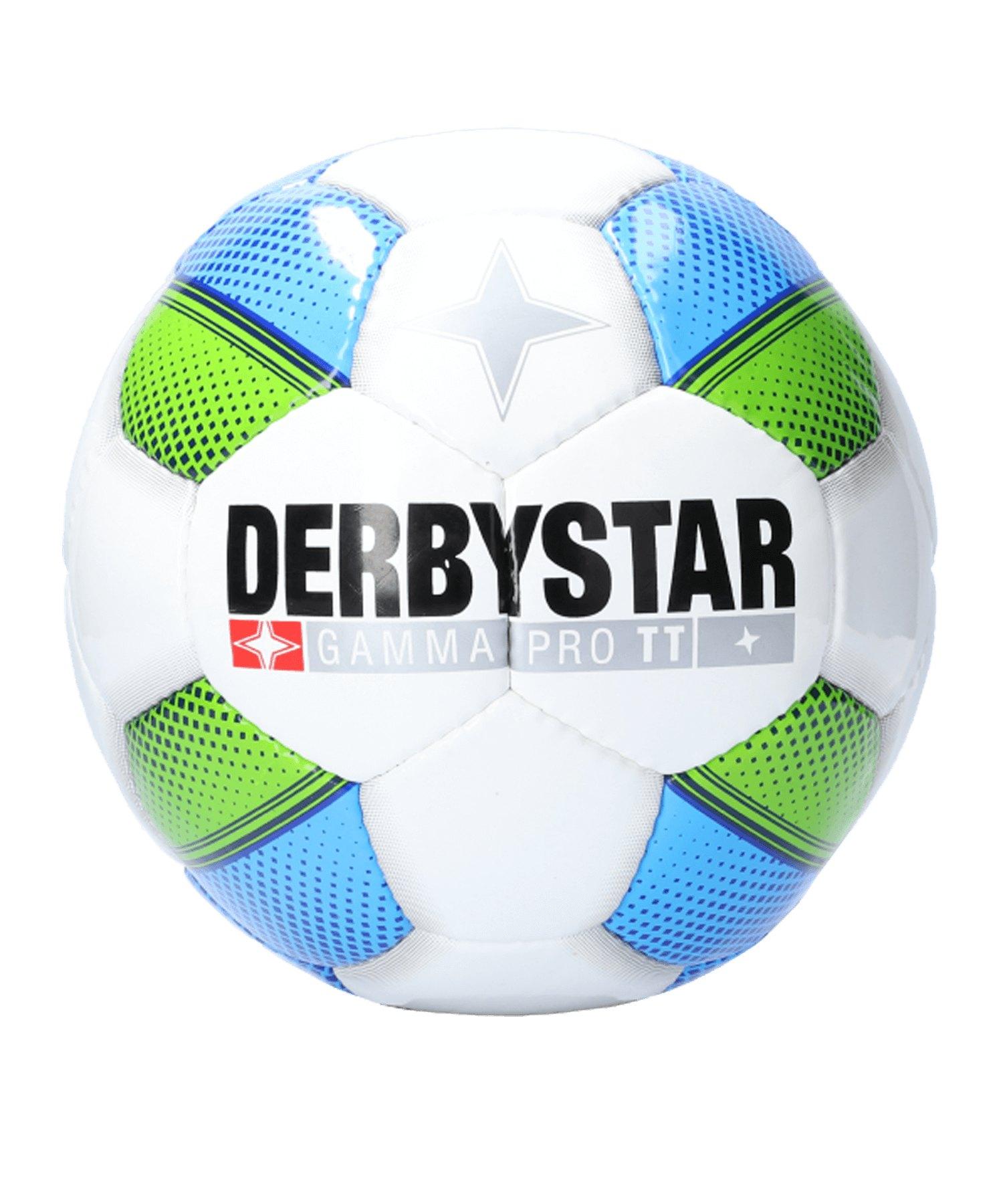 Derbystar Gamma Pro TT Trainingsball Weiss F164 - weiss
