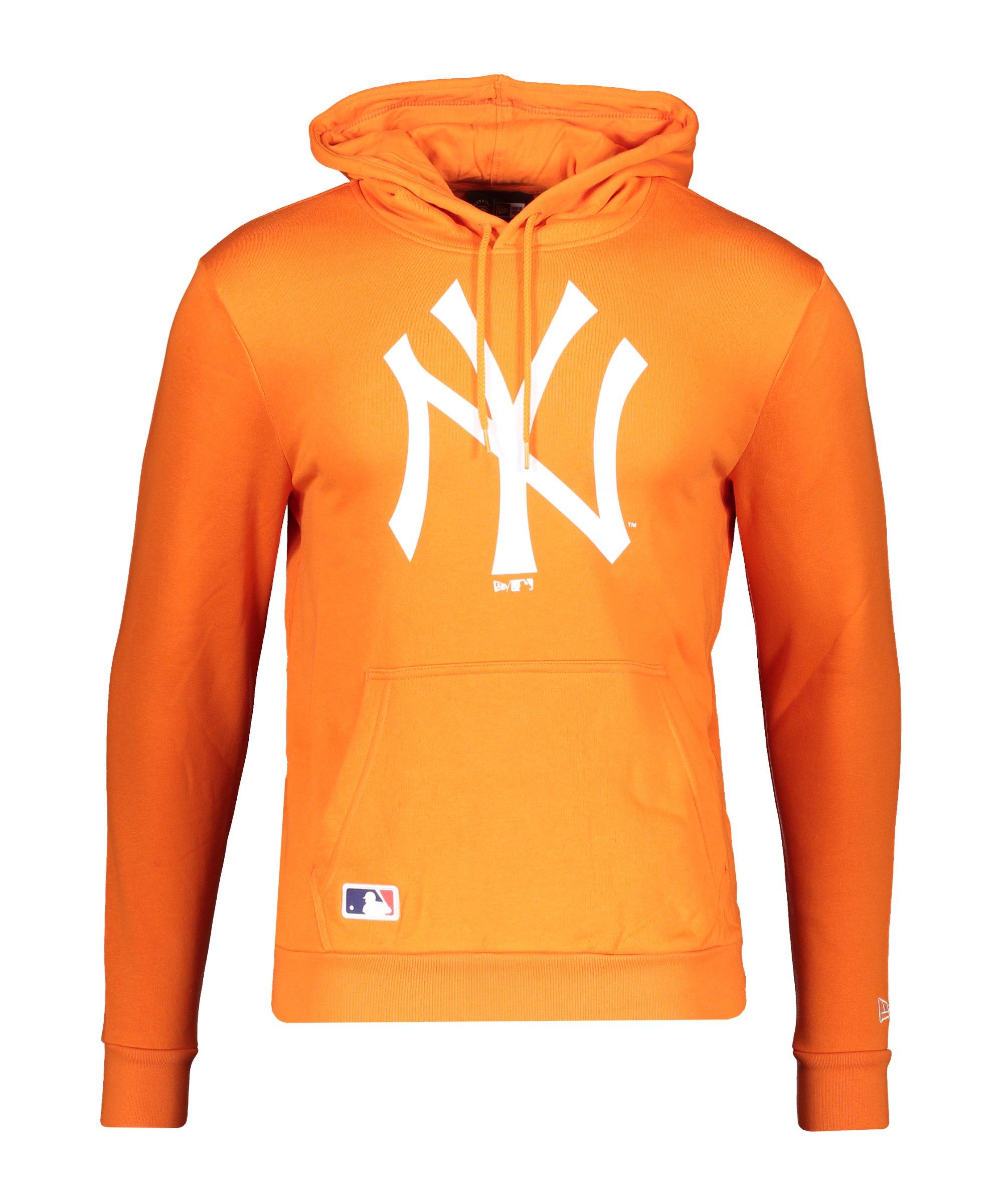 New Era NY Yankees Team Logo Hoody FSORWHI - weiss
