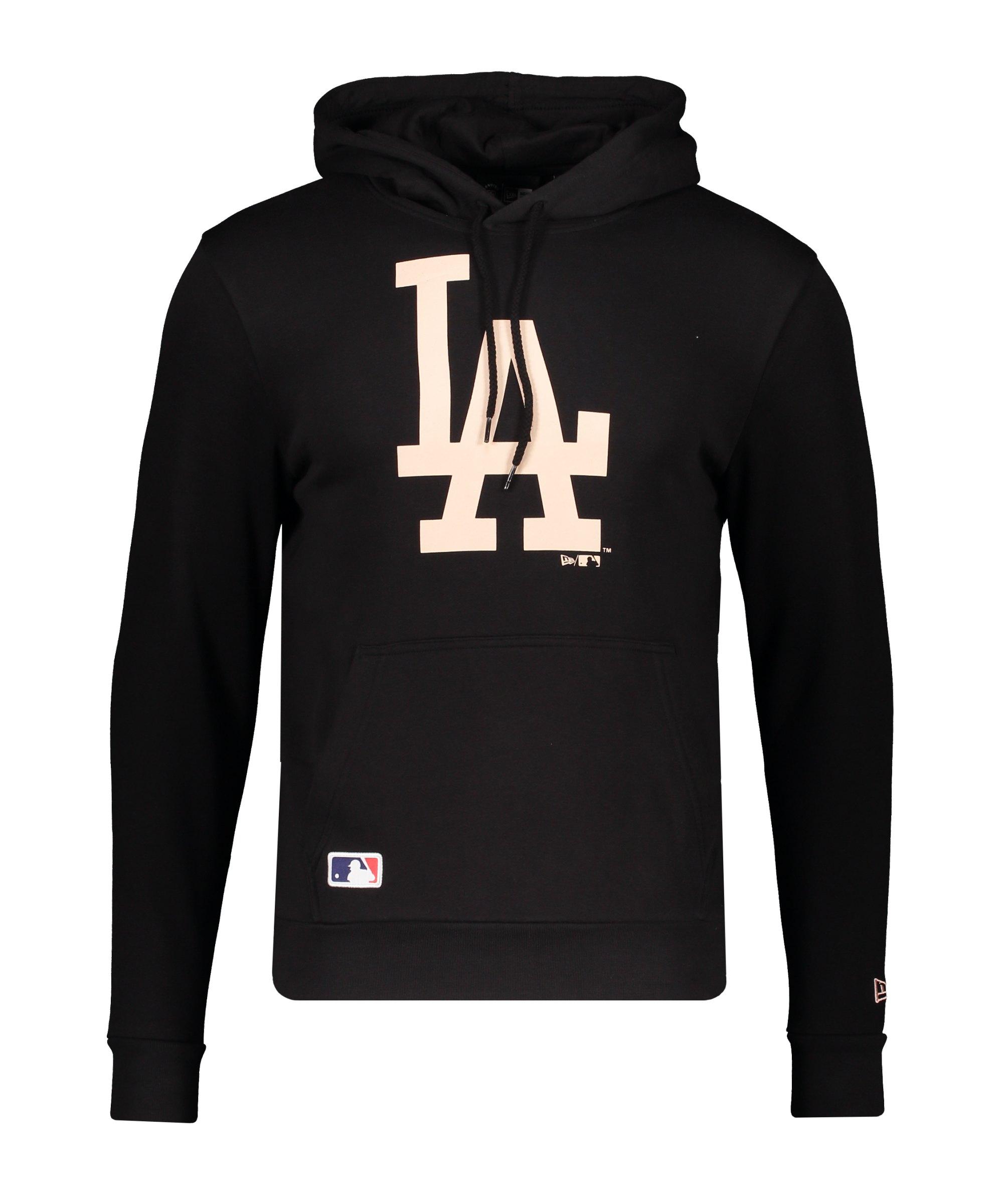 New Era LA Dodgers Team Logo Hoody FBLKBSK - schwarz