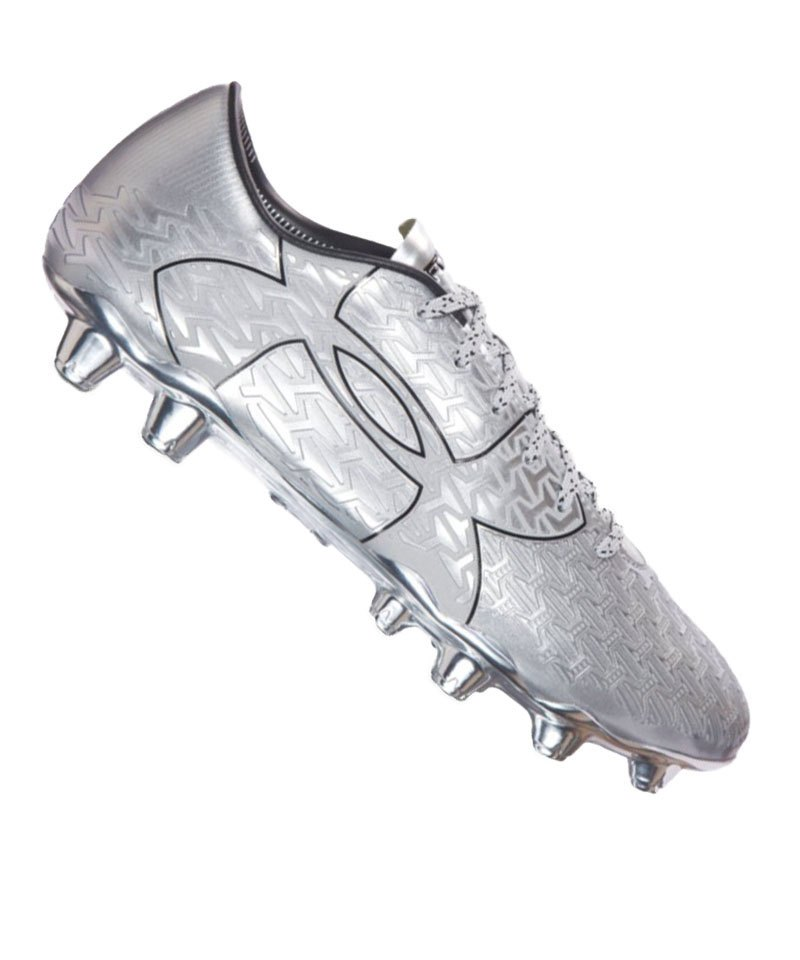 Under Armour FG ClutchFit Force 2.0 Metallic F099 - silber