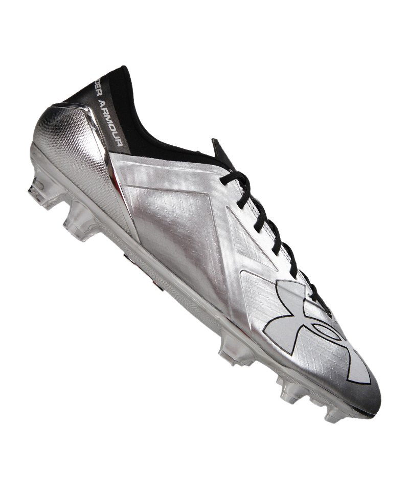 Under Armour FG Spotlight Metallic F099 - silber