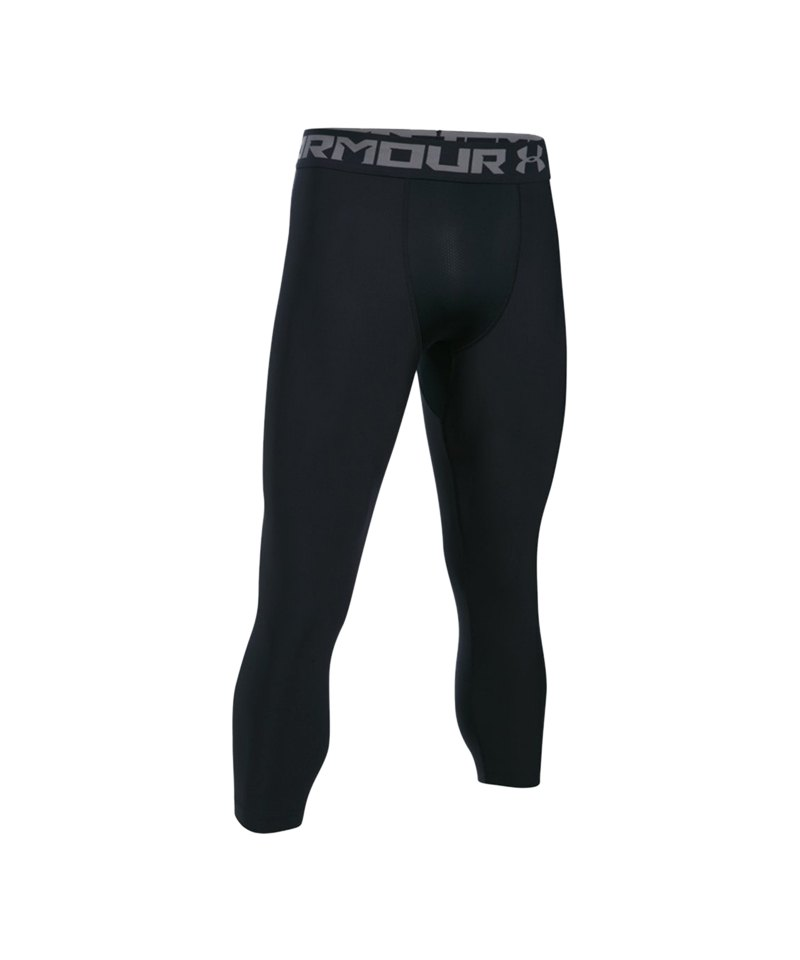 Under Armour HG 2.0 3/4 Tight Schwarz F001 - schwarz