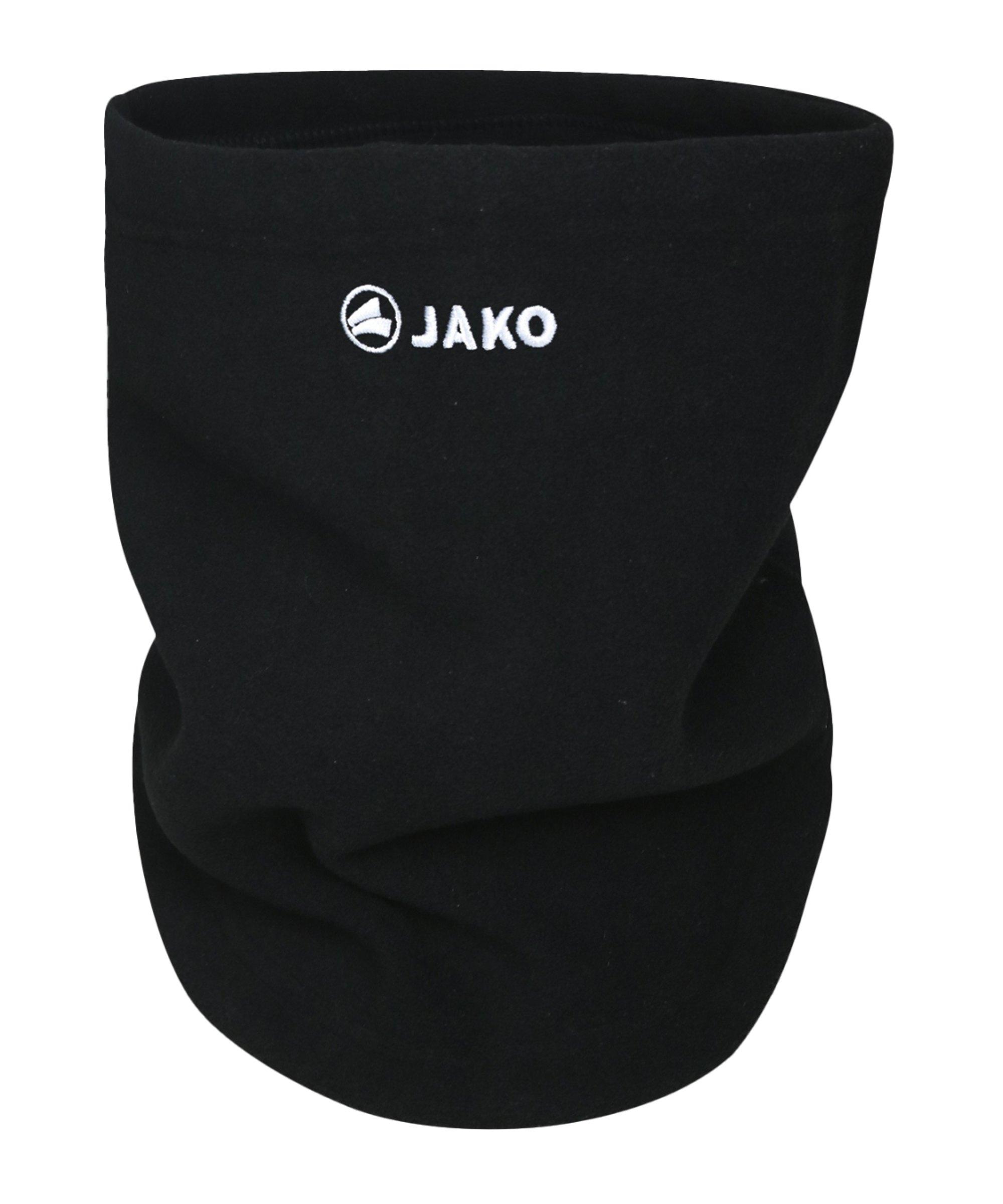 JAKO Neckwarmer Schlauchschal Gesichtsmaske F08 - schwarz