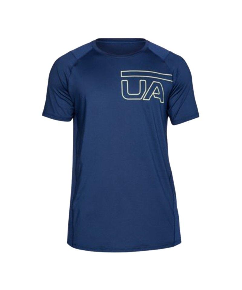 Under Armour Raid 2.0 Graphic T-Shirt Blau F408 - blau