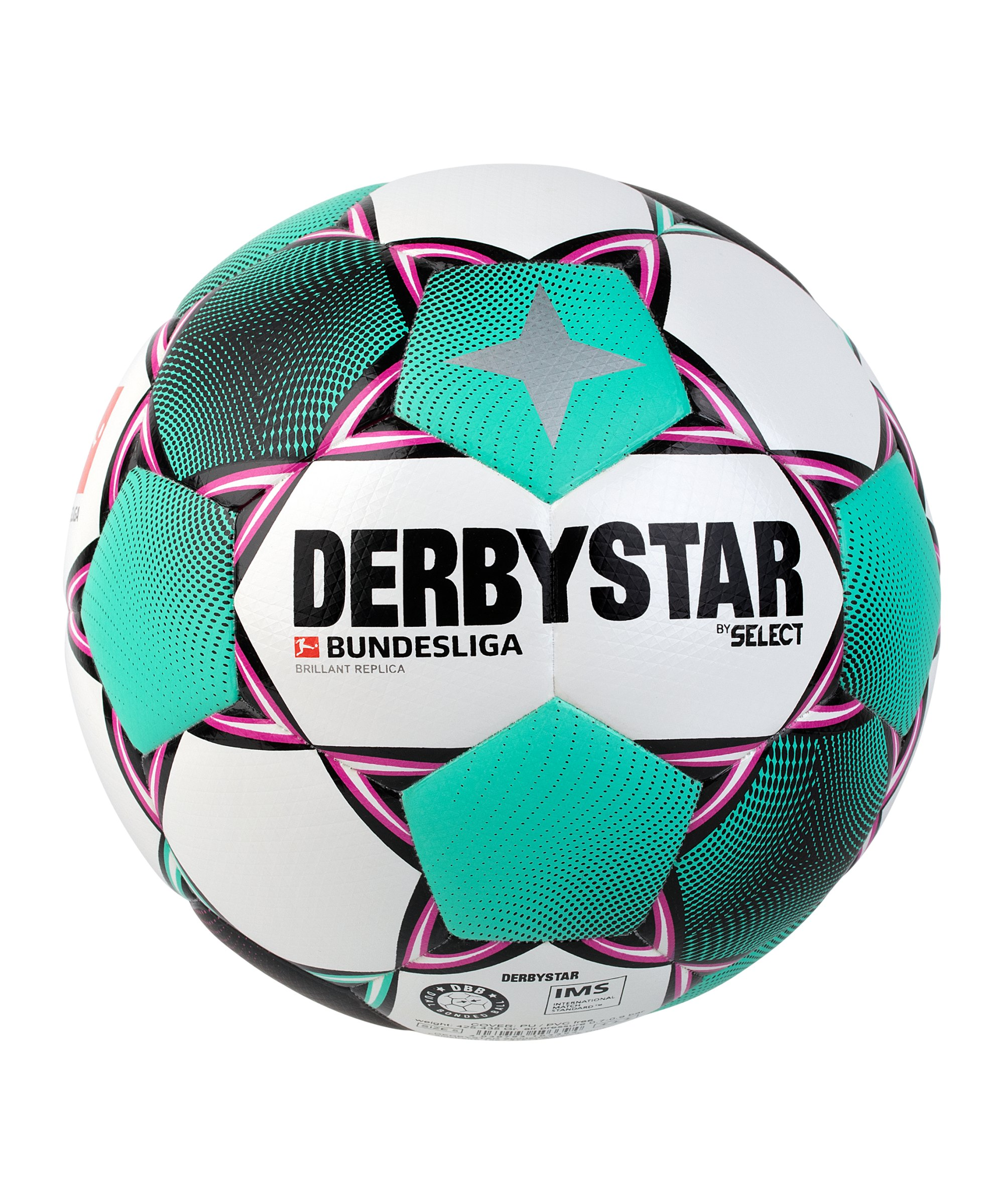 Derbystar BL Brillant Replica Trainingsball Weiss F020 - weiss
