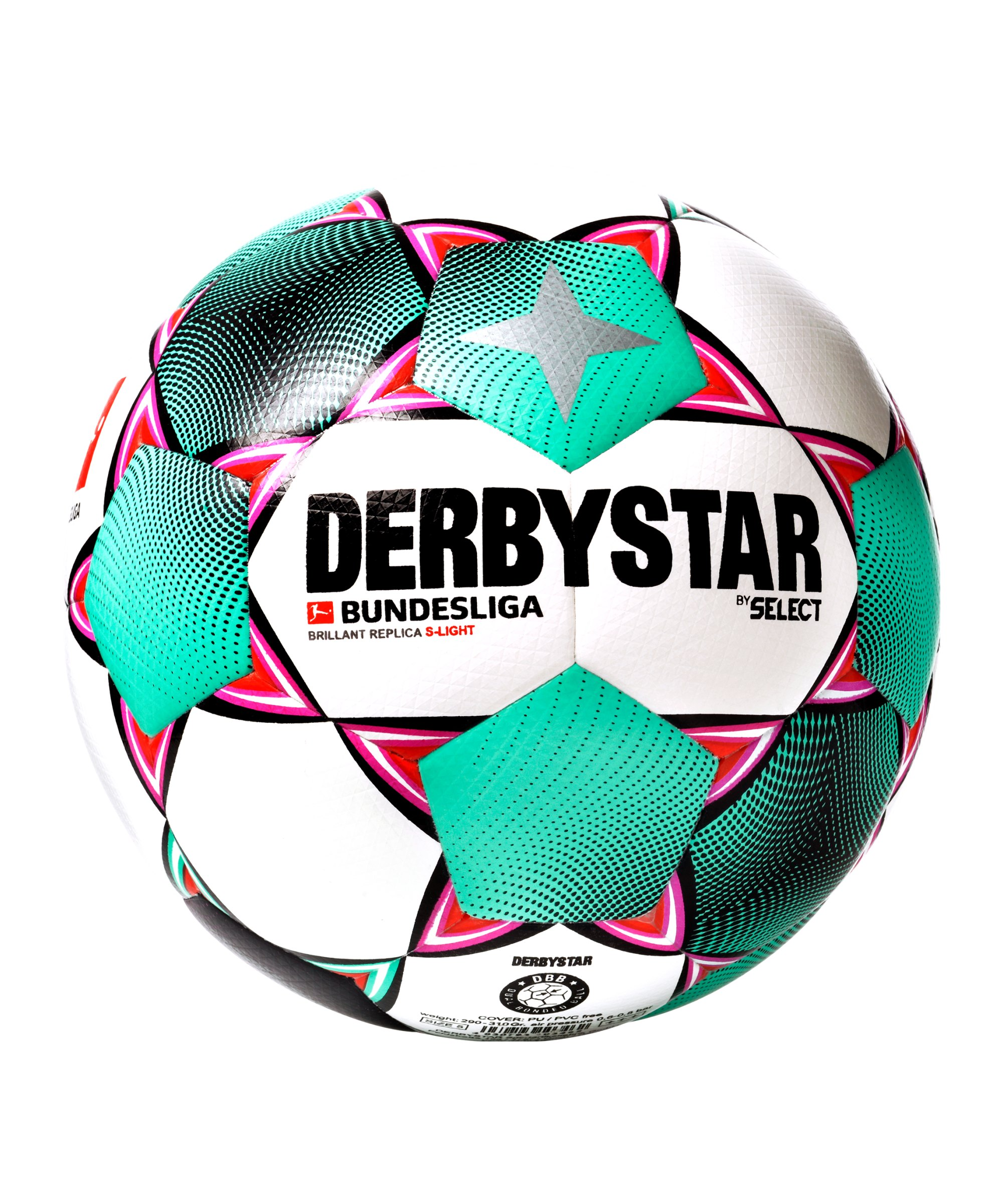 Derbystar BL Brillant Replica SLight Trainingsball Weiss F020 - weiss
