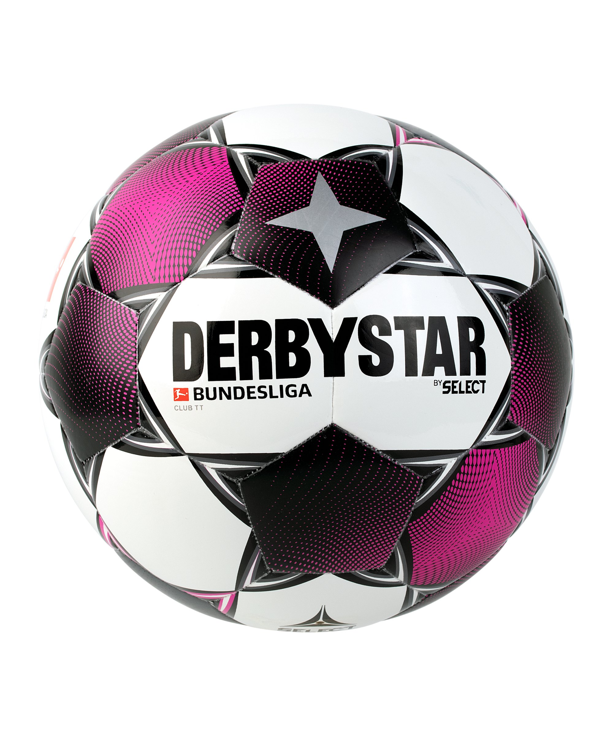 Derbystar Bundesliga Club TT Trainingsball Weiss F020 - weiss