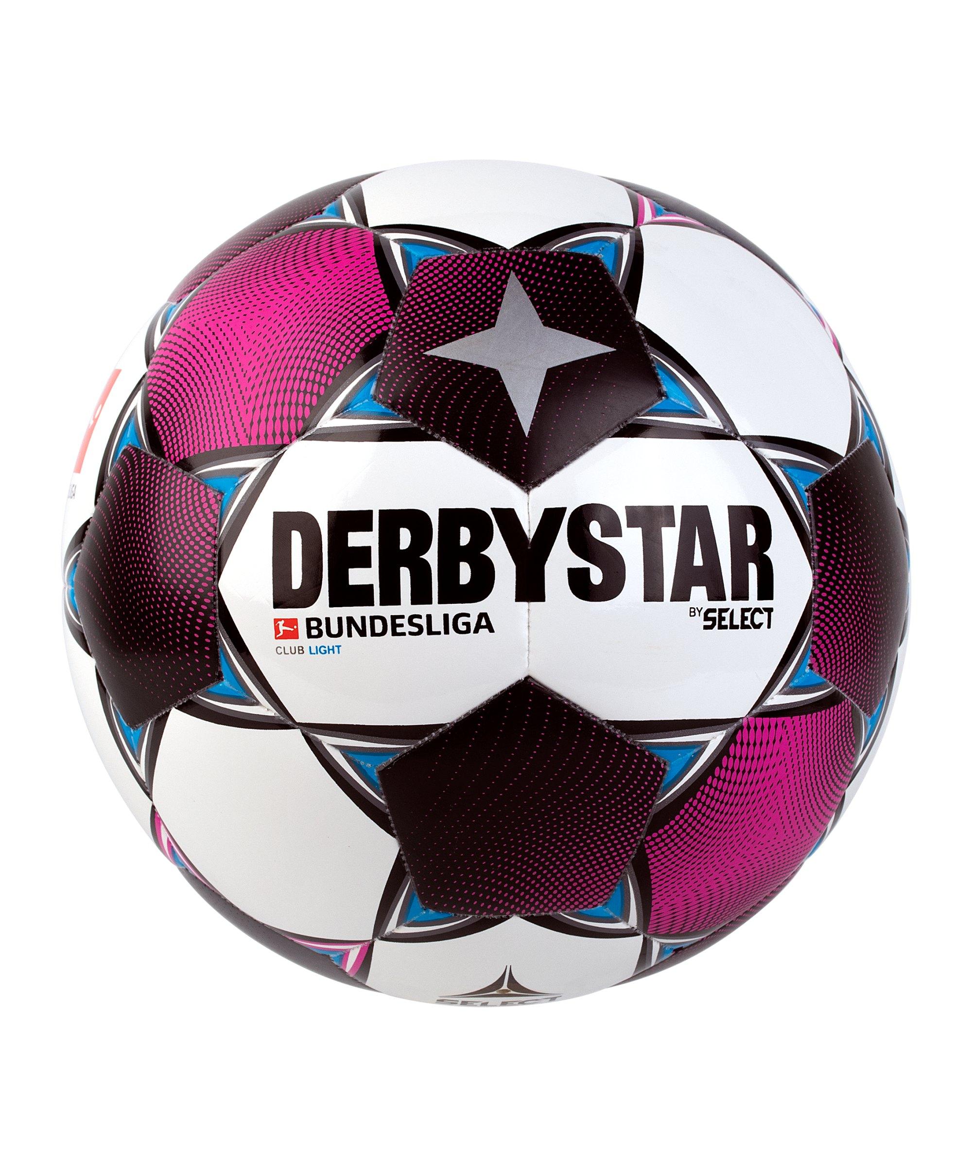 Derbystar Bundesliga Club Light Trainingsball Weiss F020 - weiss