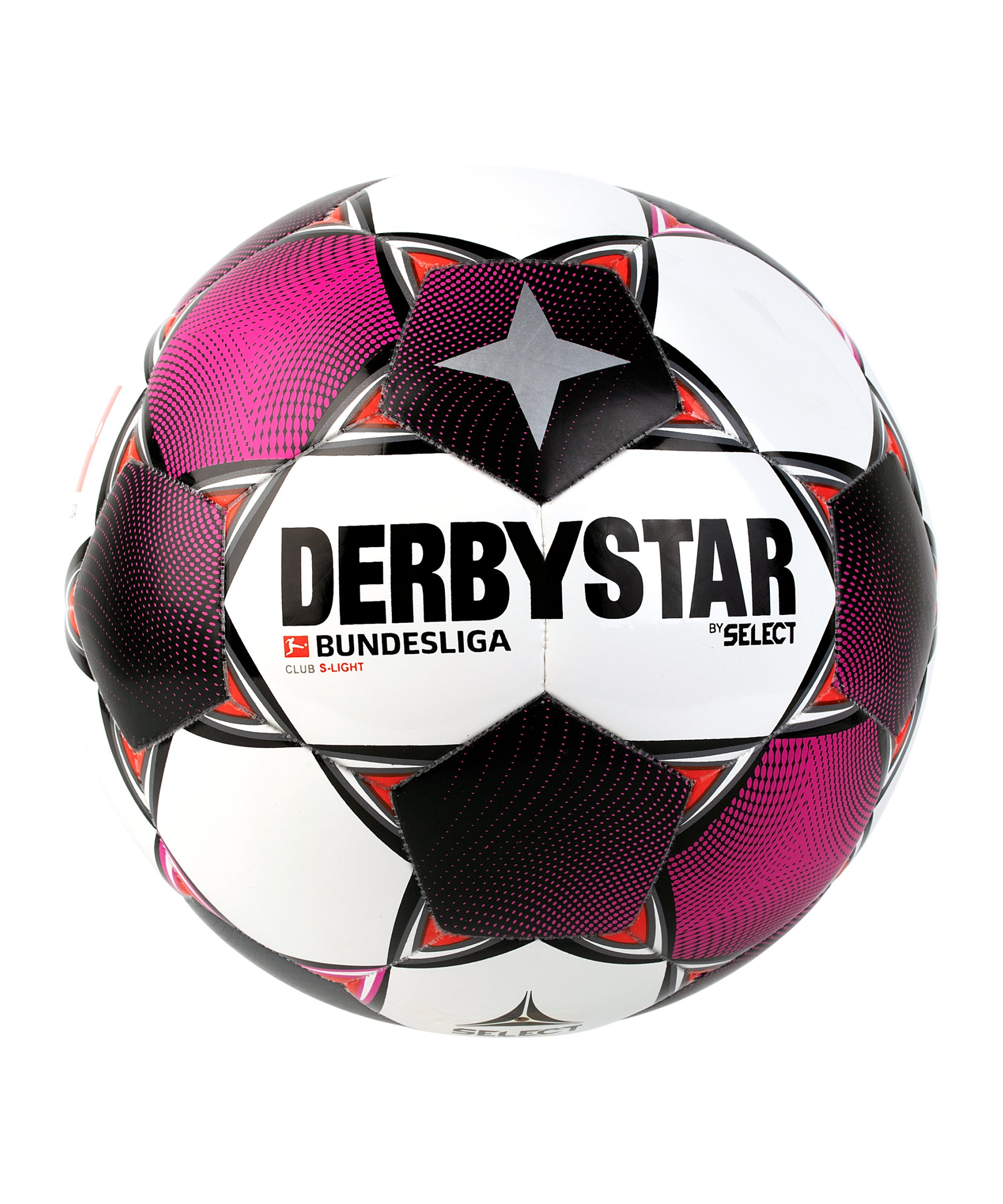 Derbystar Bundesliga Club S-Light Trainingsball Weiss F020 - weiss