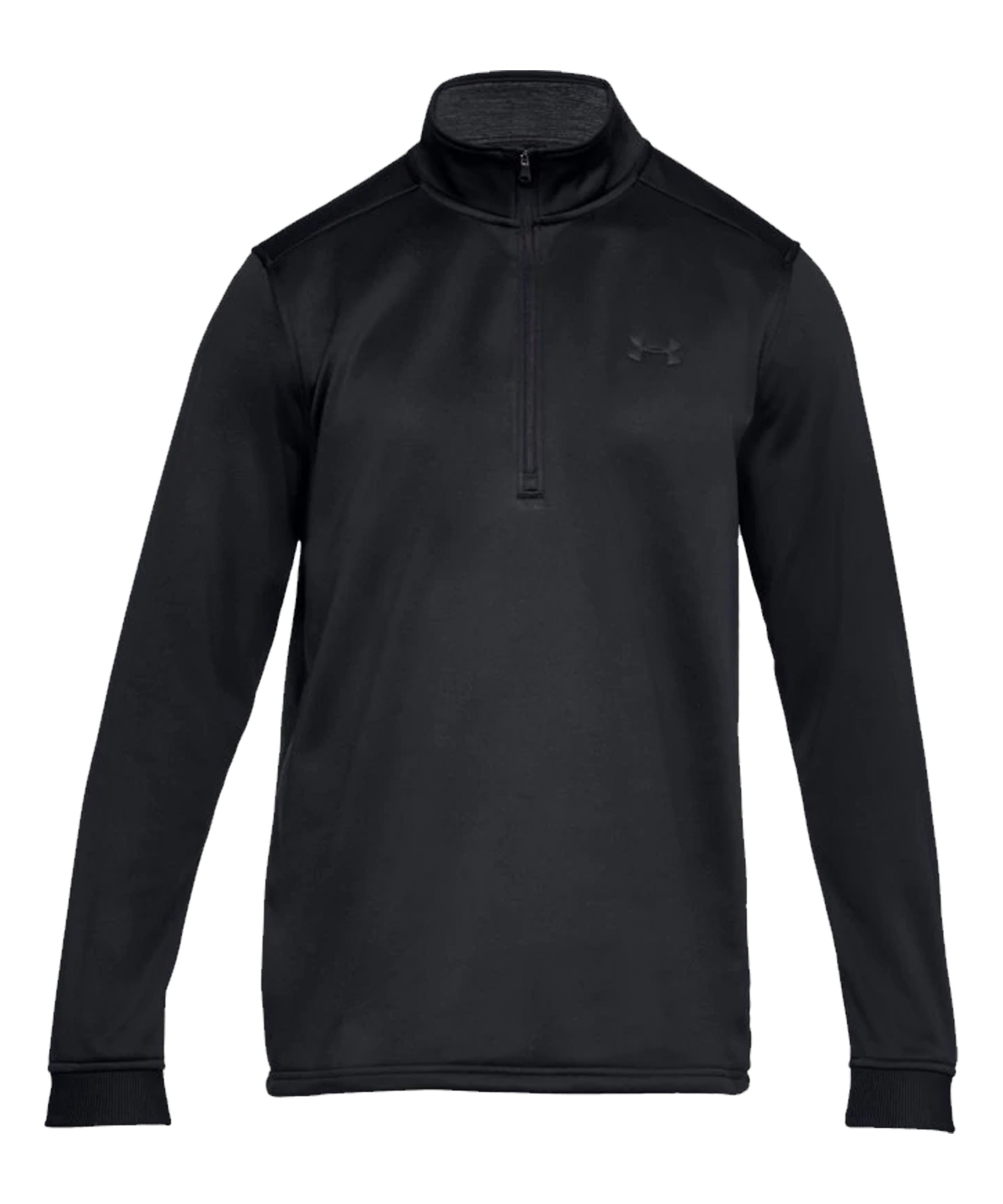Under Armour 1/2 Zip Fleece Sweatshirt F001 - schwarz