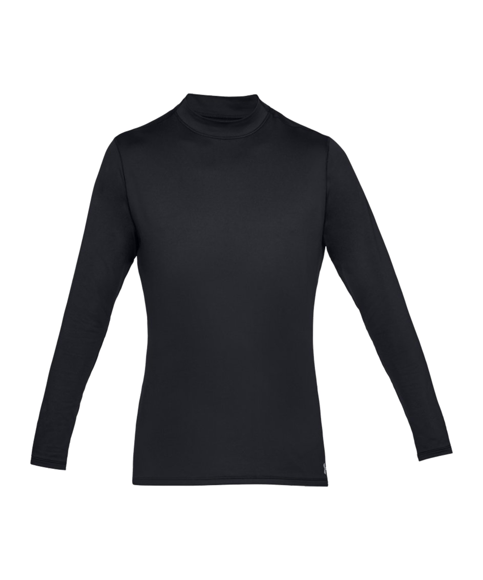Under Armour ColdGear Fittet Mock Shirt F001 - schwarz