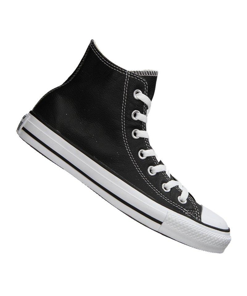 Converse Chuck Taylor AS High Leather Schwarz - schwarz
