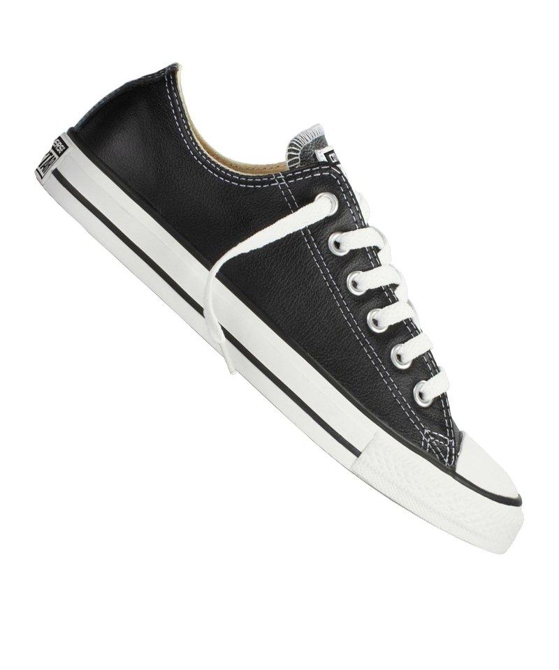 Converse Chuck Taylor AS Leather Sneaker Schwarz - schwarz