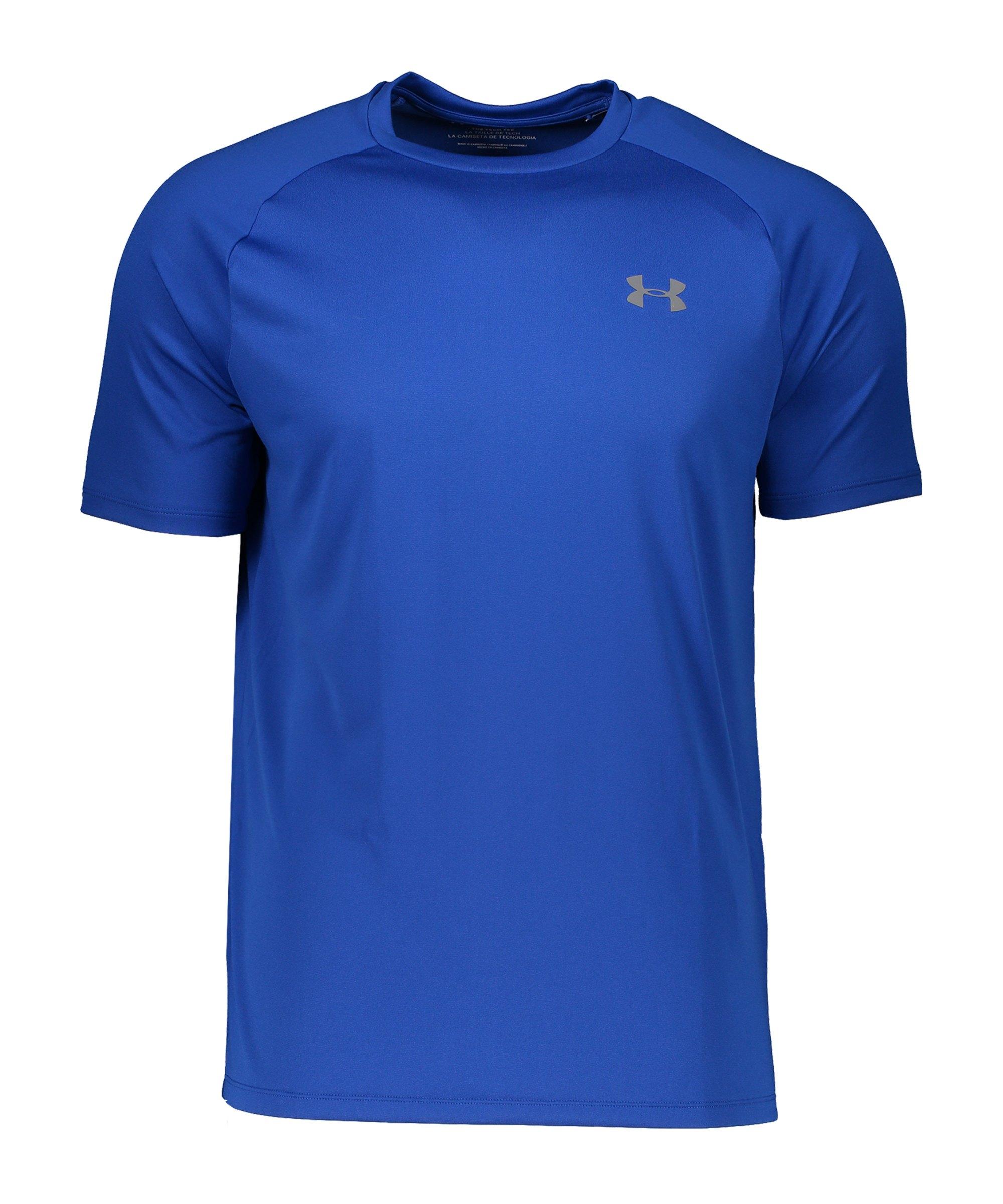 Under Armour Tech T-Shirt Blau F400 - blau