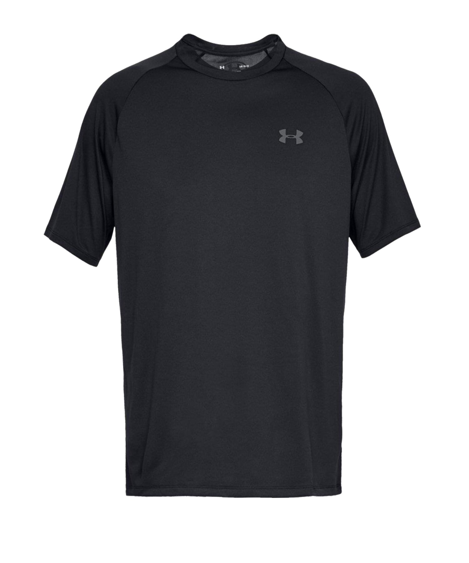 Under Armour Tech T-Shirt Schwarz F001 - schwarz