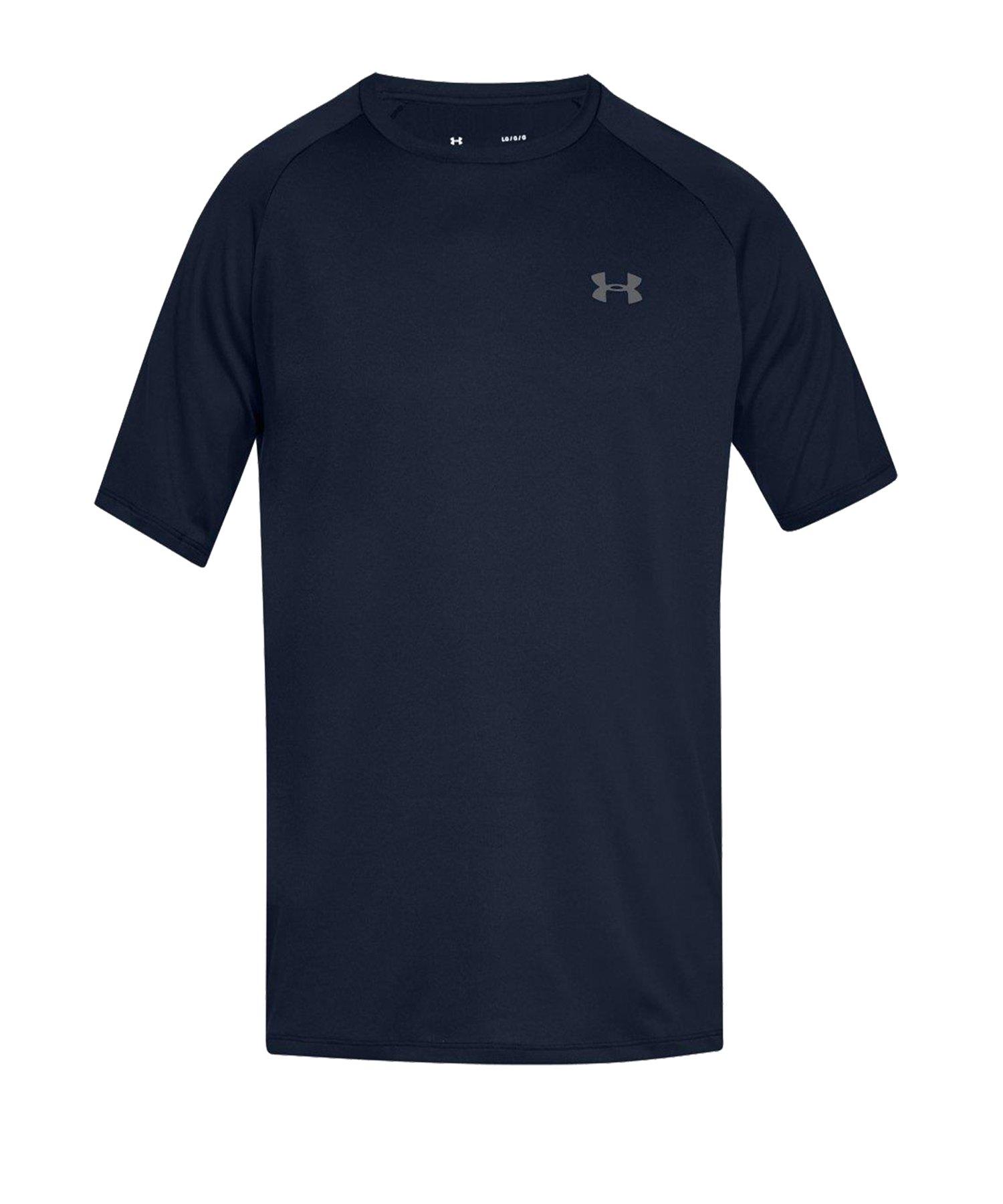 Under Armour Tech Tee T-Shirt Blau F408 - blau