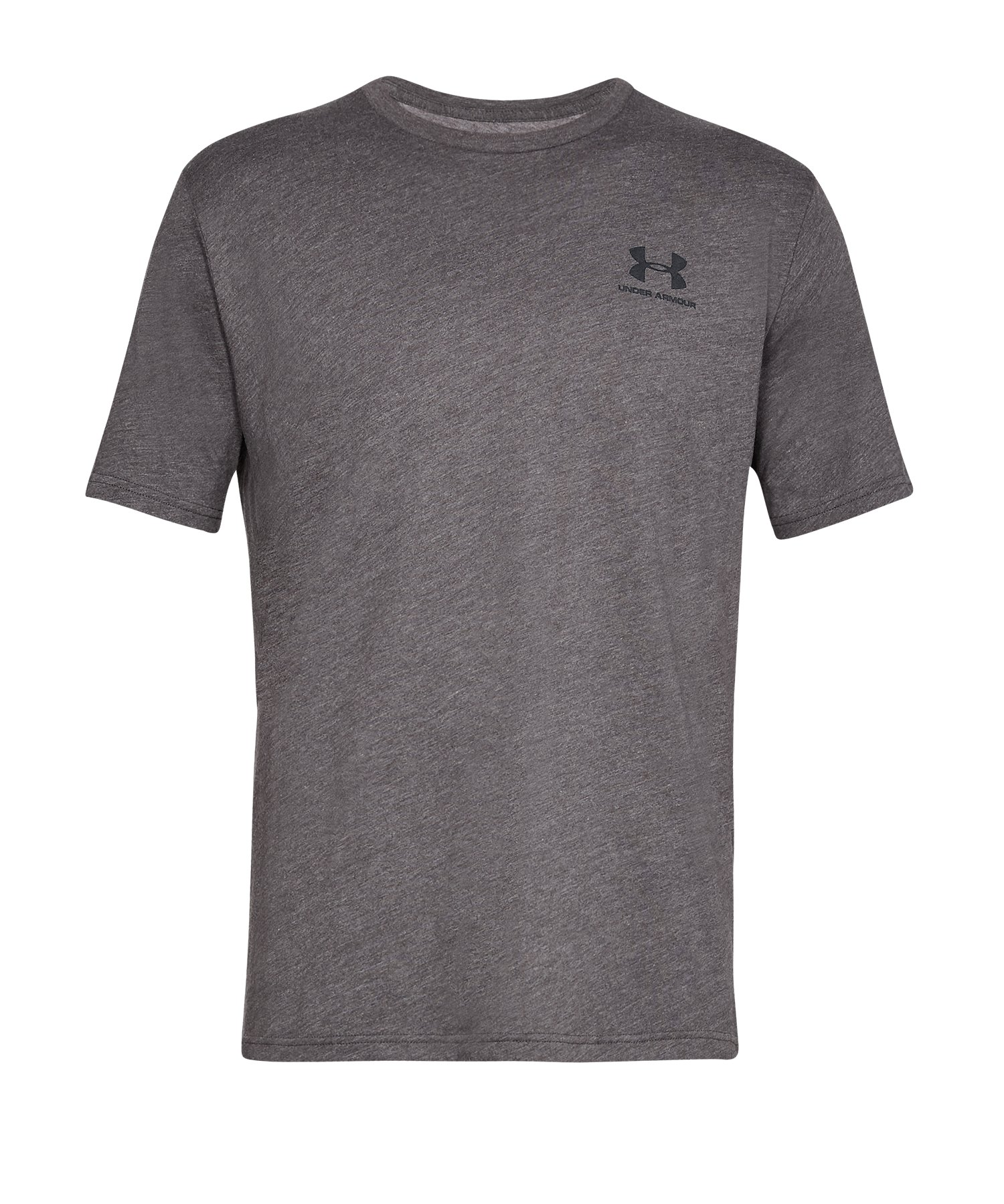 Under Armour Sportstyle Left Chest T-Shirt F019 - Grau