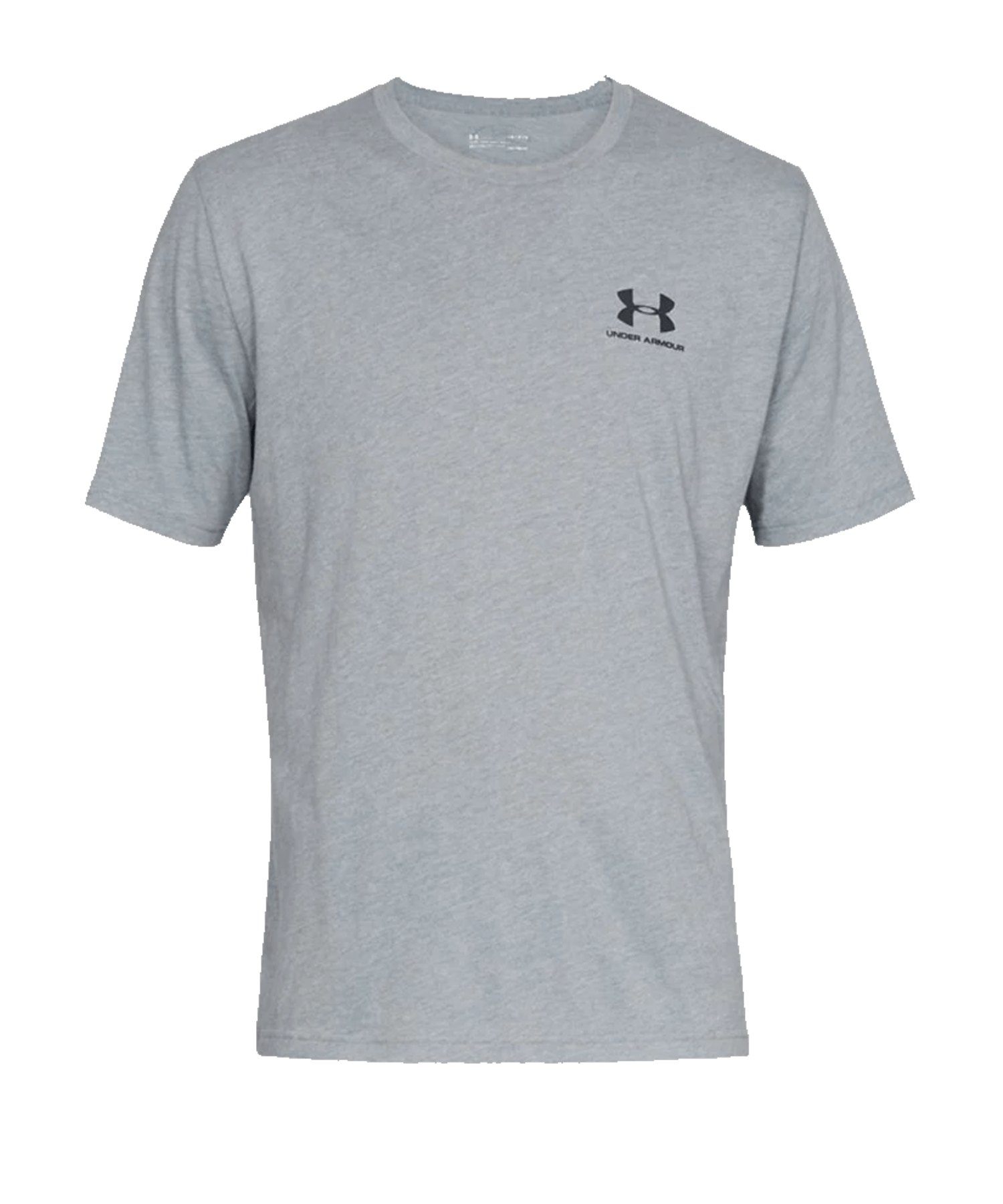 Under Armour Sportstyle Left Chest T-Shirt F036 - grau