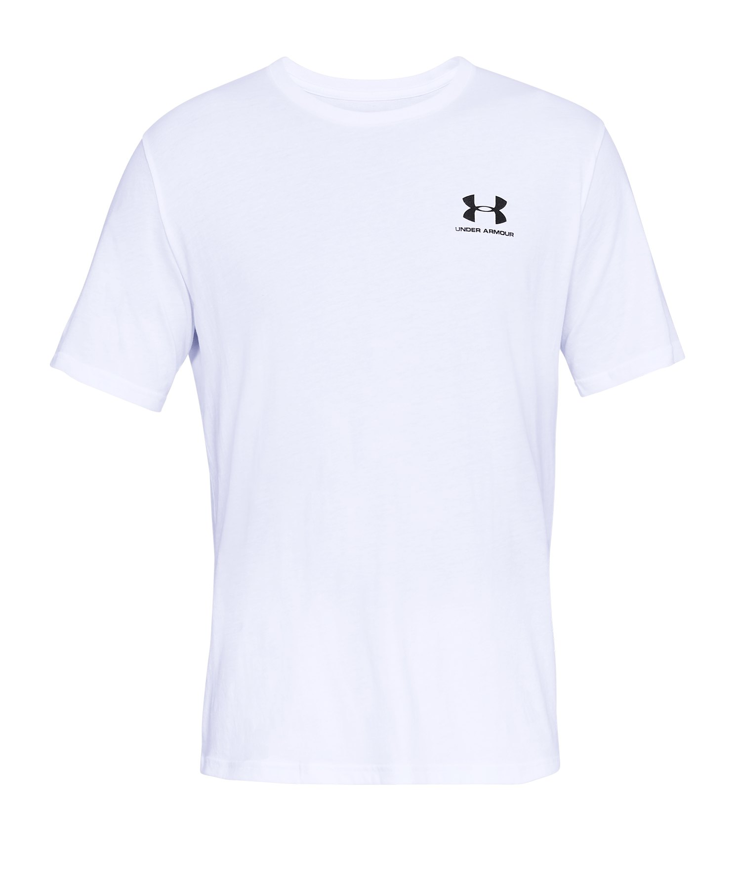 Under Armour Sportstyle Left Chest T-Shirt F100 - Weiss