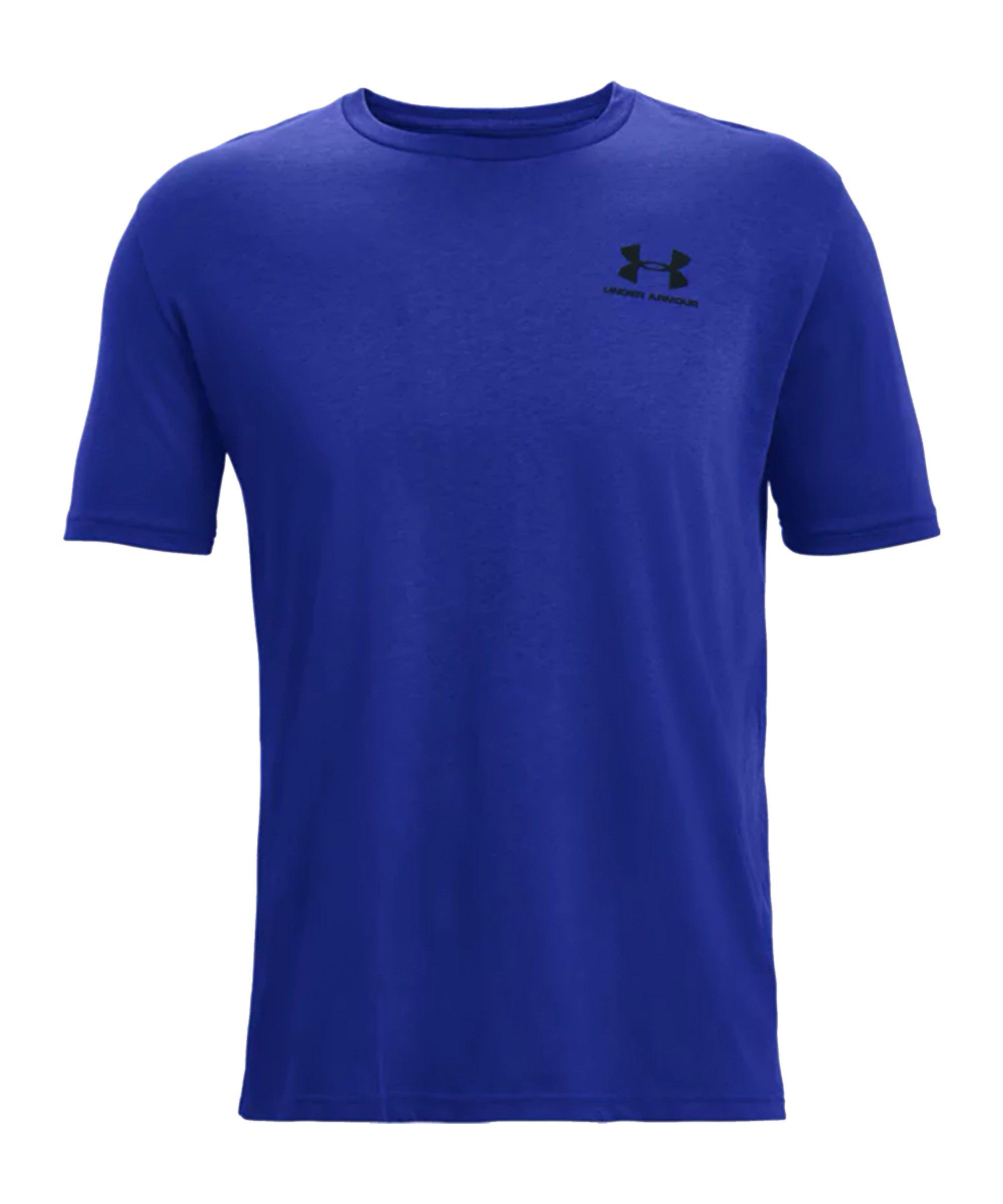 Under Armour Sportstyle Left Chest T-Shirt F402 - blau