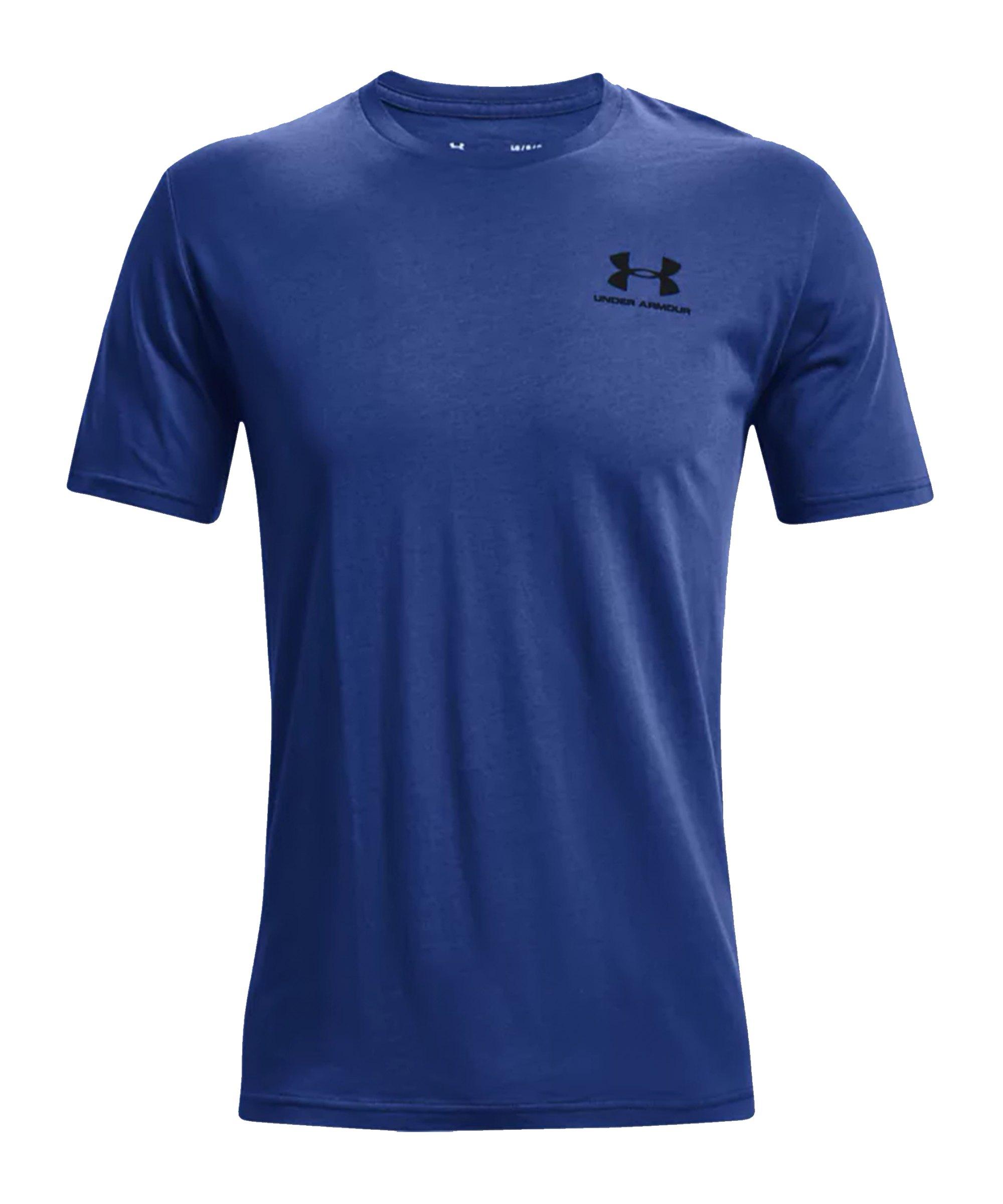 Under Armour Sportstyle Left Chest T-Shirt F432 - blau