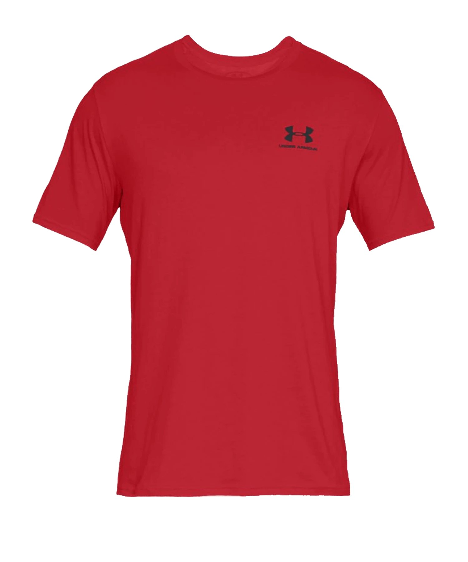 Under Armour Sportstyle Left Chest T-Shirt F600 - rot