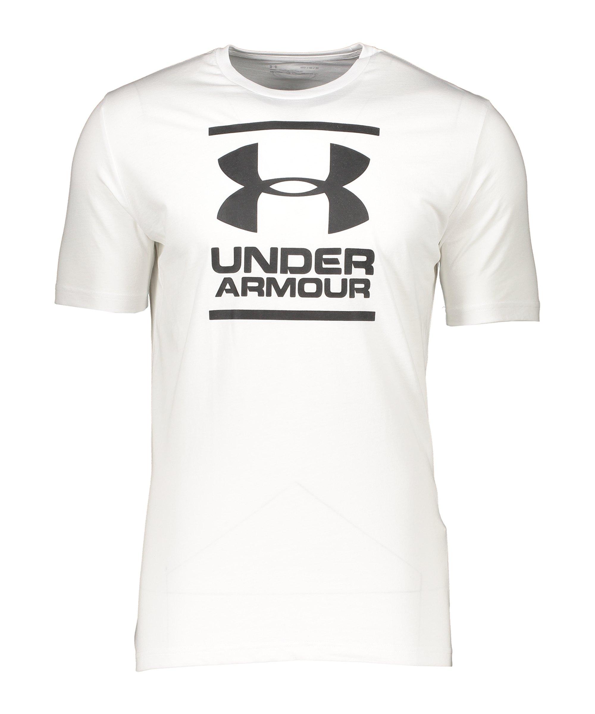 Under Armour GL Foundation T-Shirt Weiss F100 - weiss