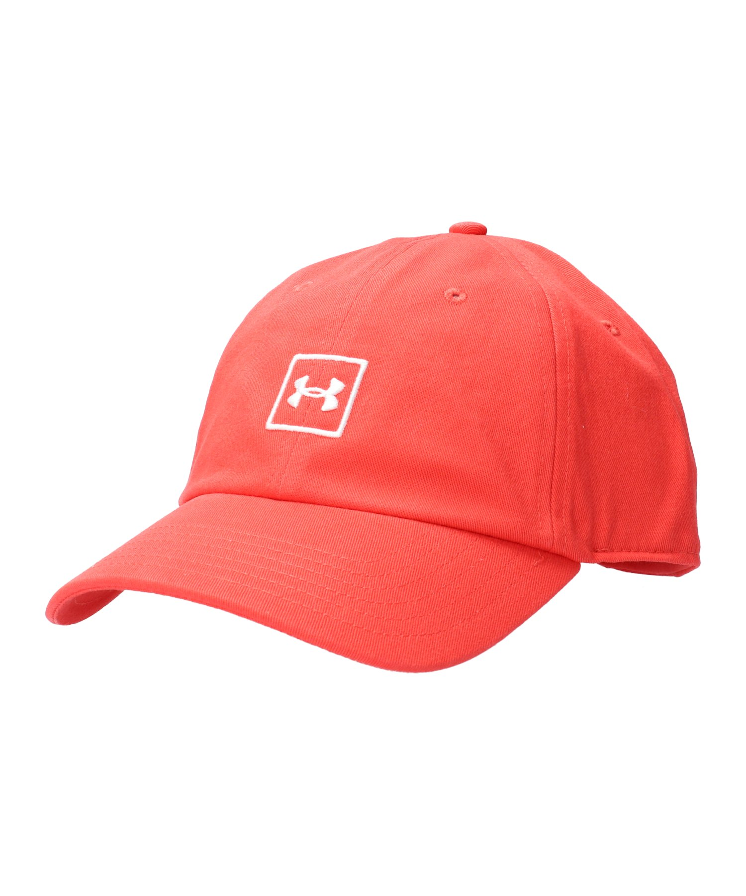 Under Armour Washed Cotton Cap Rot F646 - rot