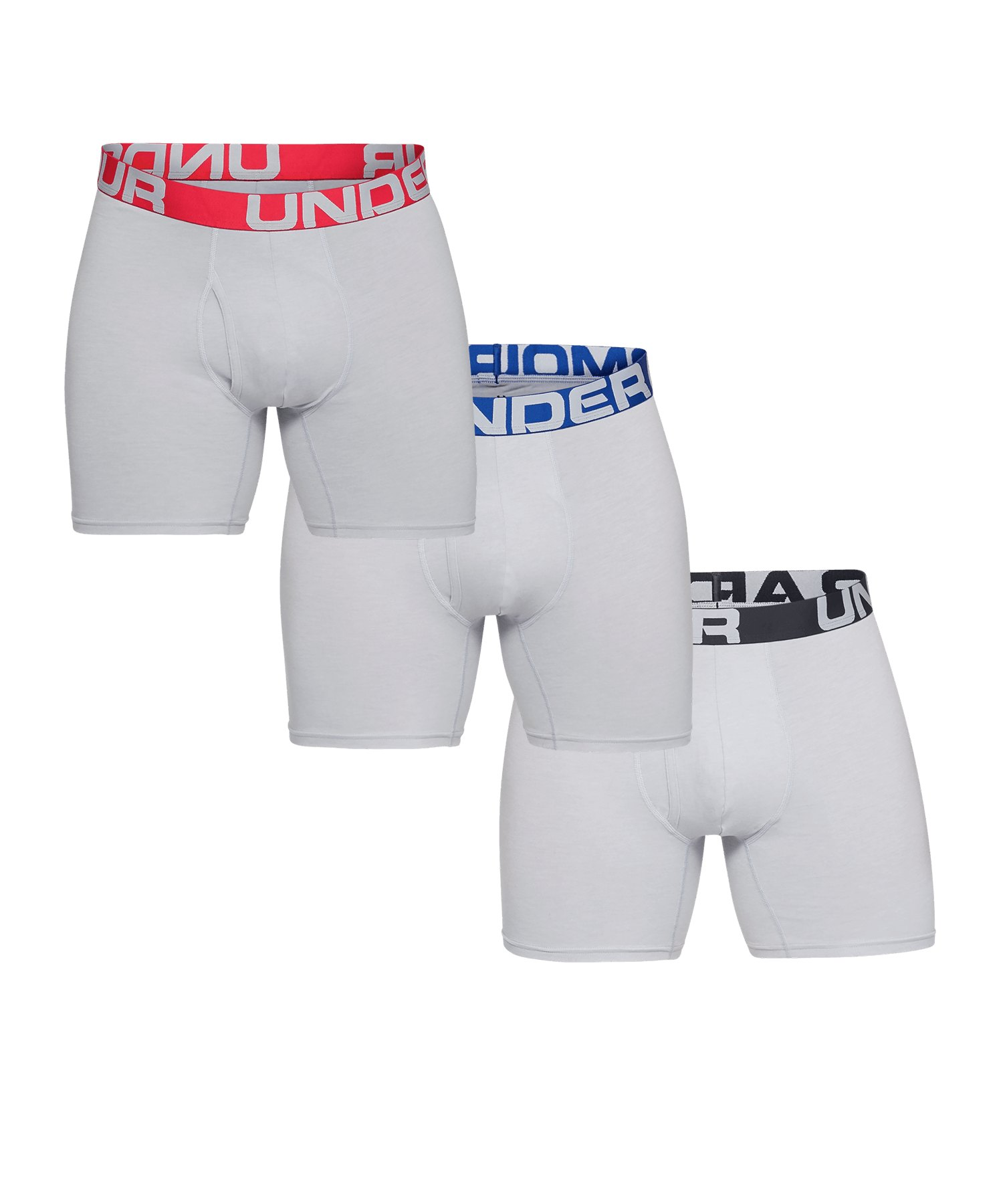 Under Armour Charged Boxerjock Short 3er Pack F011 - grau