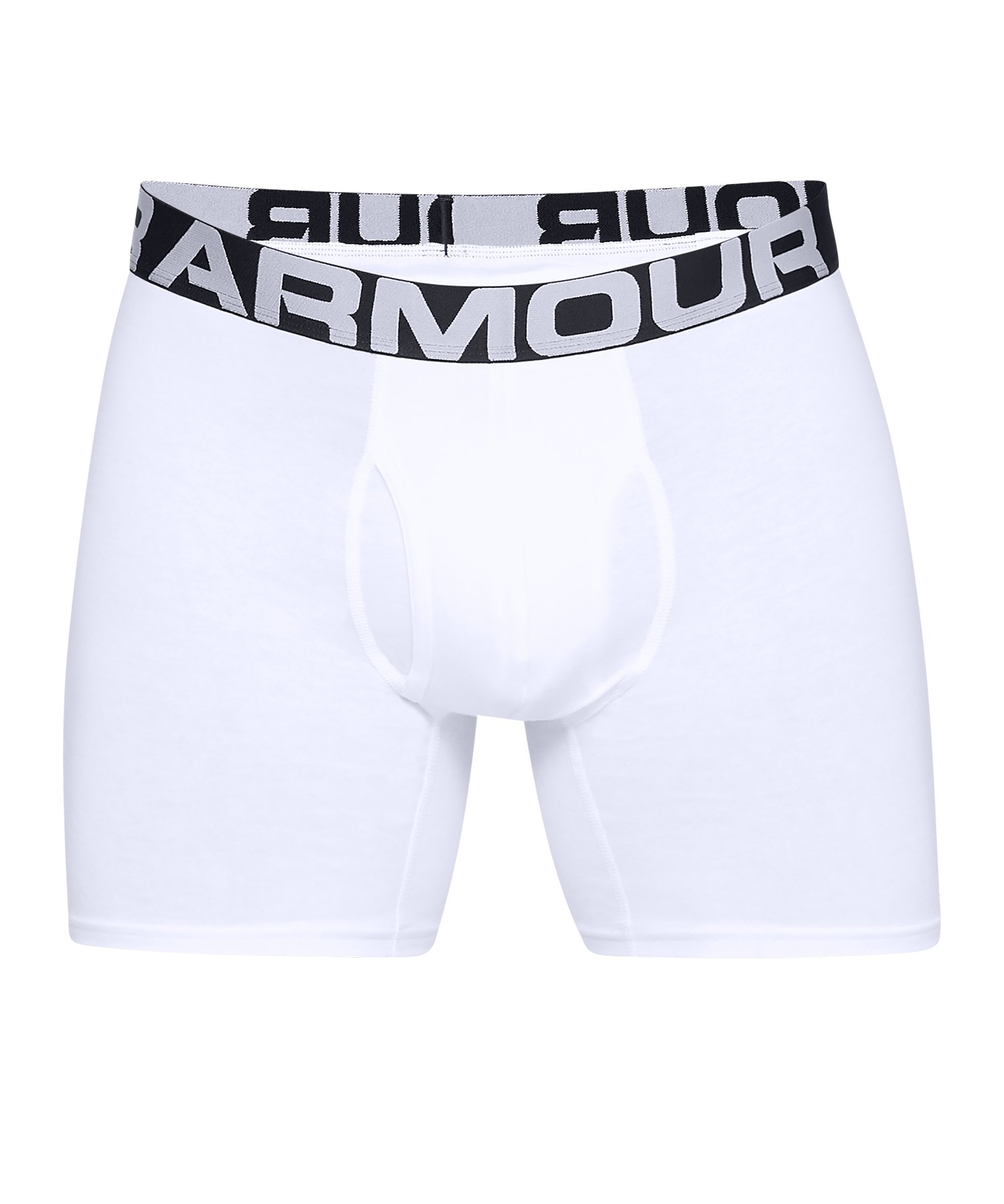 Under Armour Charged Boxerjock Short 3er Pack F100 - weiss