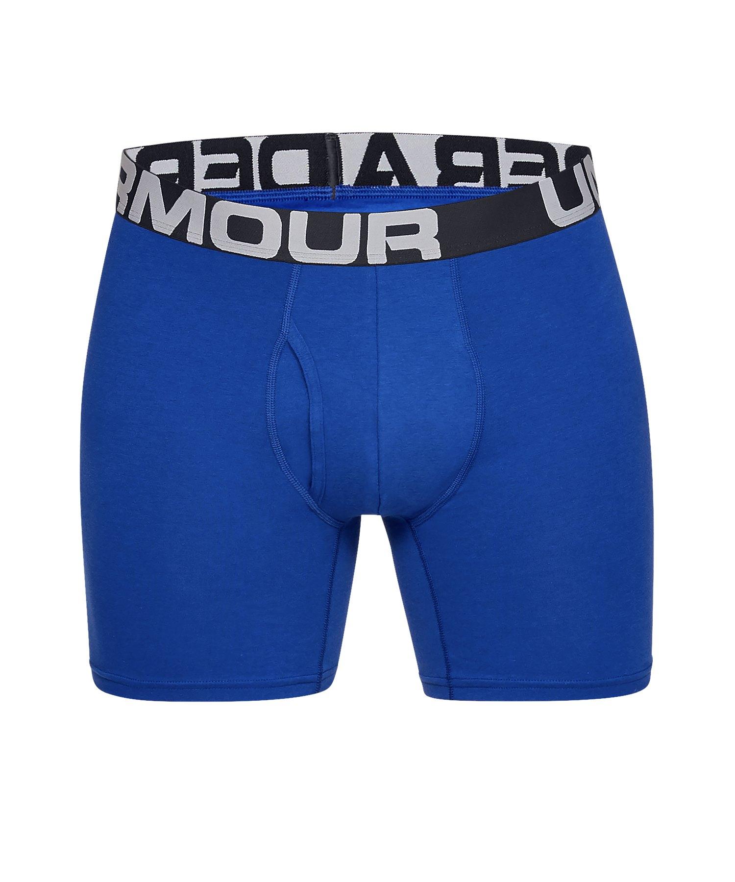 Under Armour Charged Boxerjock Short 3er Pack F400 - blau