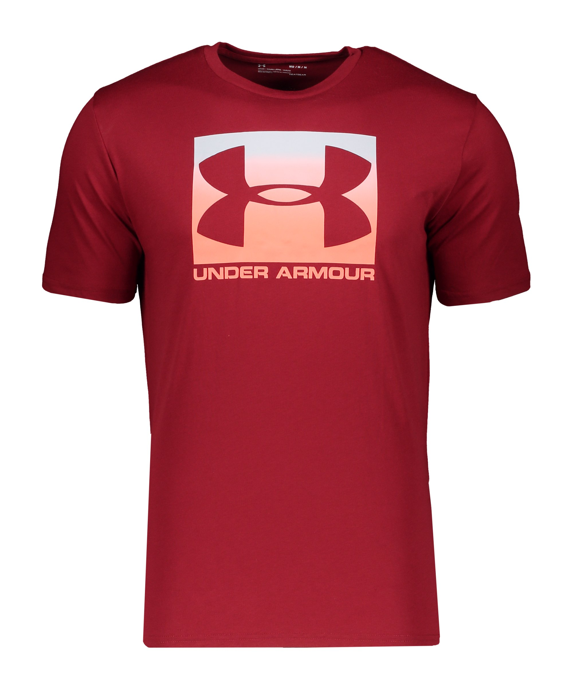 Under Armour Boxed Sportstyle T-Shirt Rot F615 - rot
