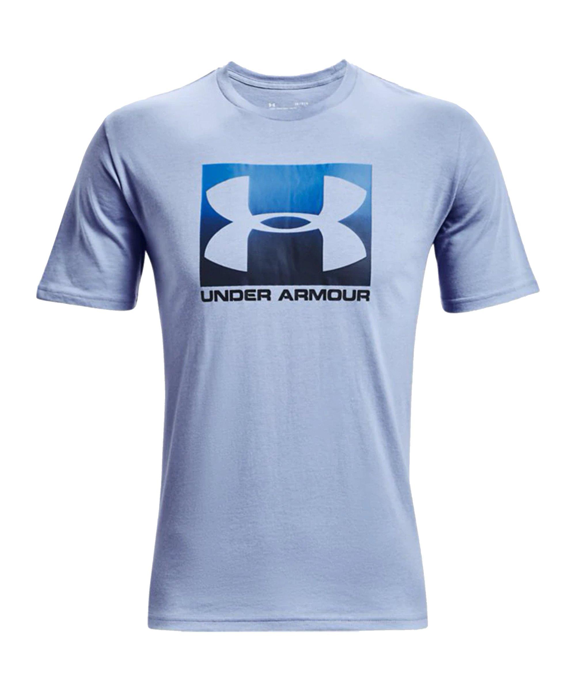 Under Armour Boxed Sportstyle T-Shirt Schwarz F003 - blau