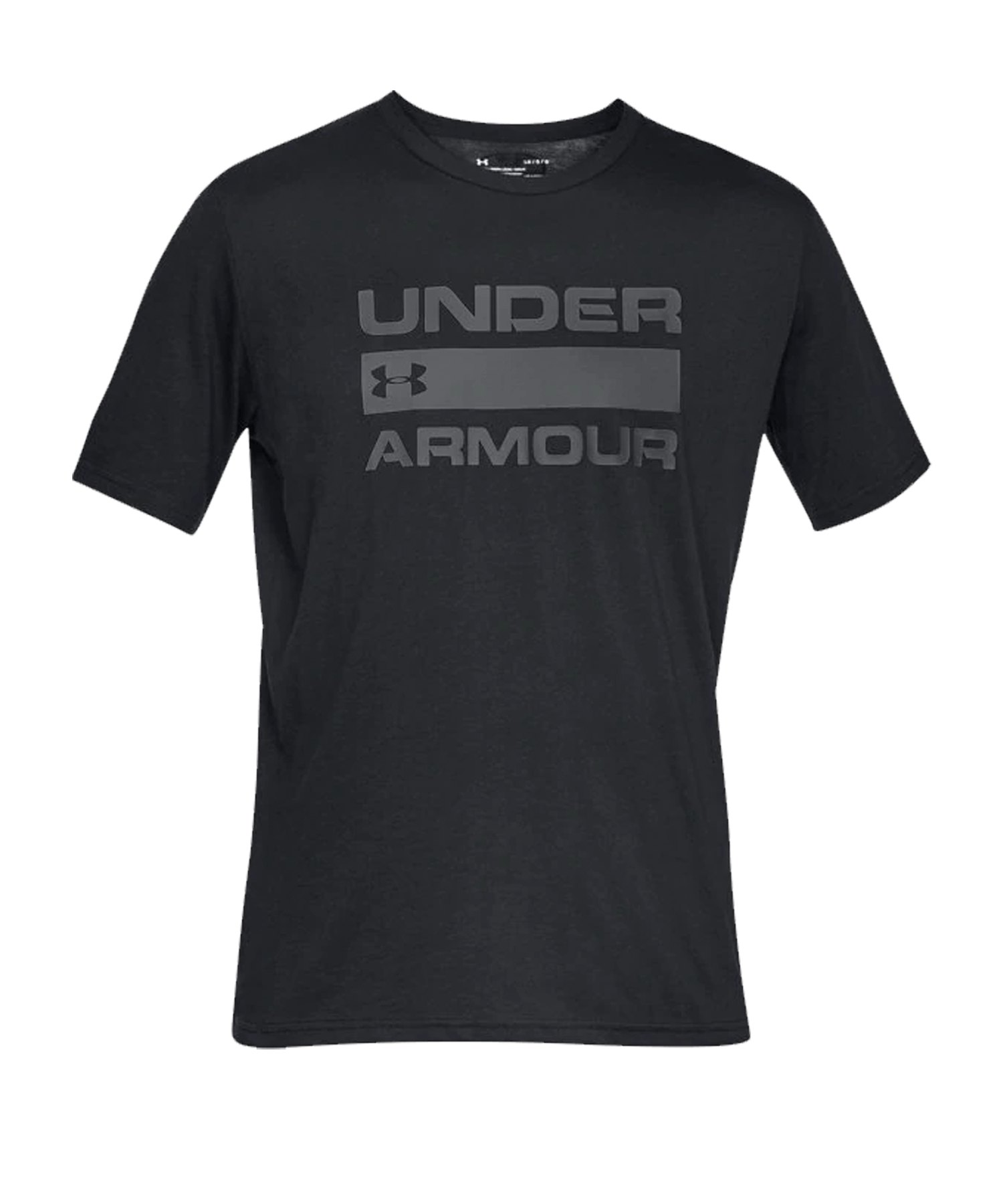 Under Armour Team Issue Wordmark T-Shirt F001 - schwarz