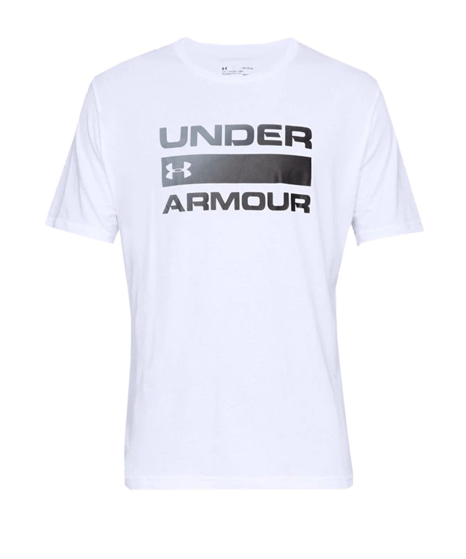 Under Armour Team Issue Wordmark T-Shirt F100 - weiss