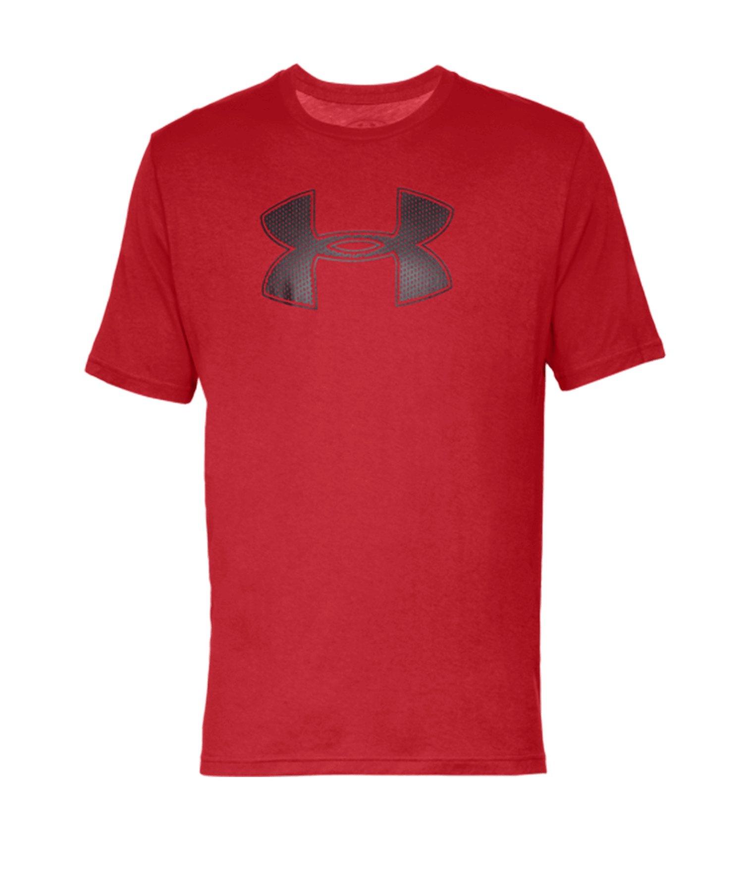 Under Armour Big Logo T-Shirt Rot F600 - rot
