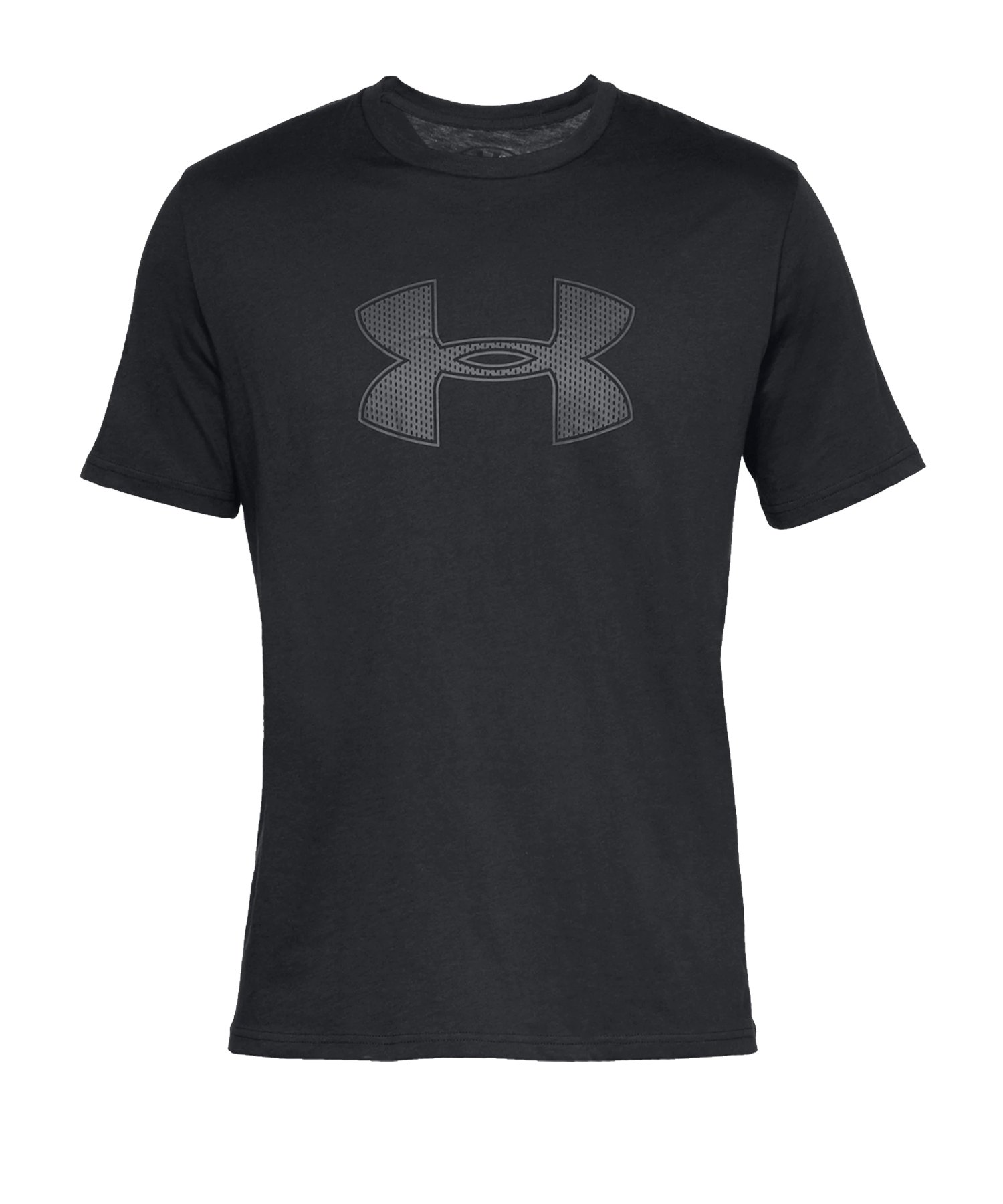 Under Armour Big Logo T-Shirt Schwarz F001 - schwarz