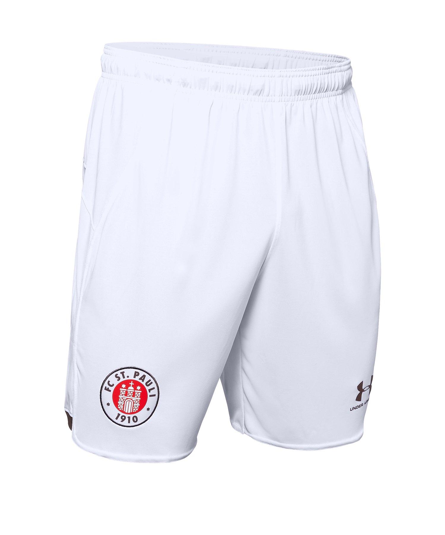 Under Armour St. Pauli Short Away 2019/2020 F105 - Weiss