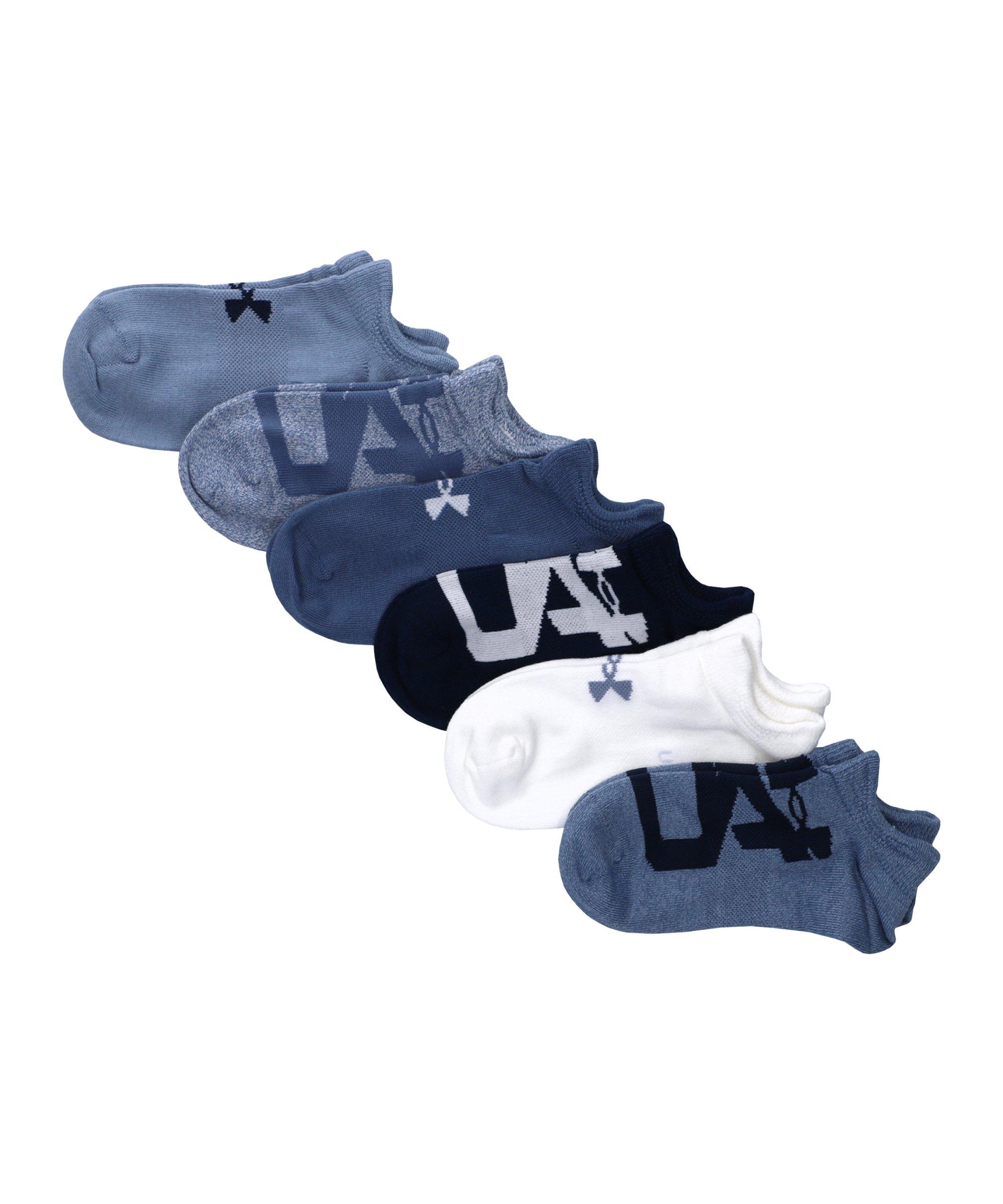 Under Armour Essentials 6er Pack Socken Damen F420 - blau