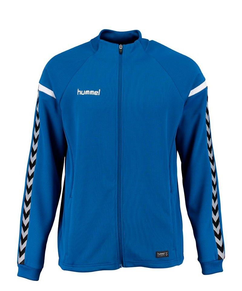 Hummel Authentic Charge Zip-Jacke Kids Blau F7045 - blau